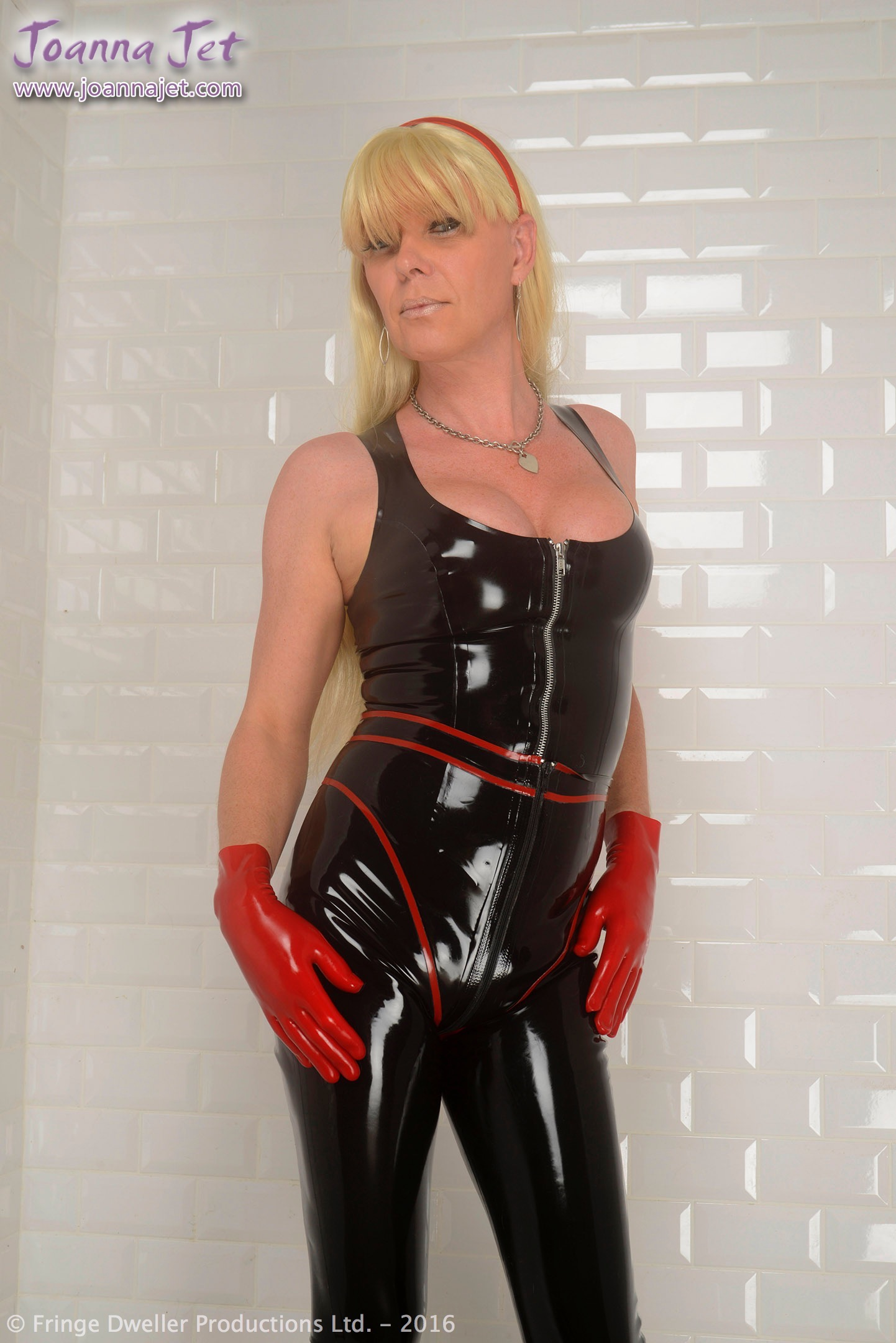 from Titus trannys in shiny rubber