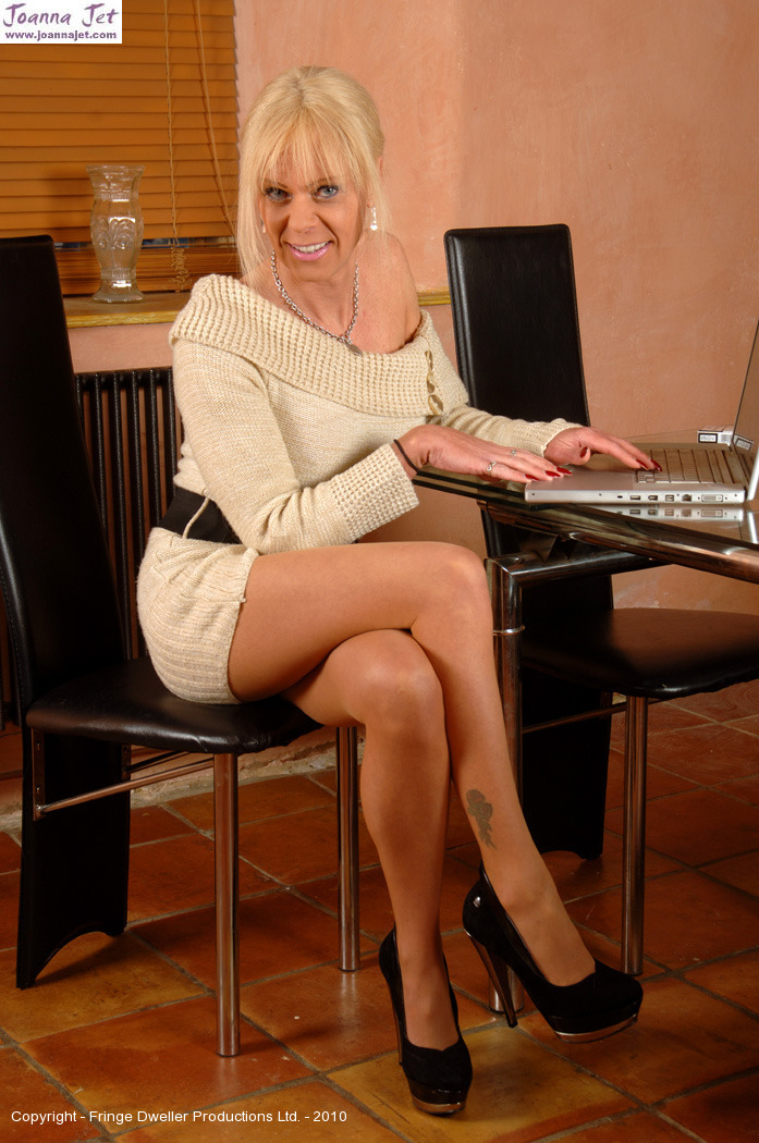 Gallery in nylons shemale