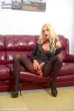 Shemale Cougar - Leather & Sheer