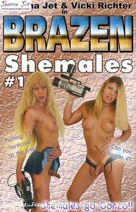 Brazen Shemales - Joanna, Vicki and Friends