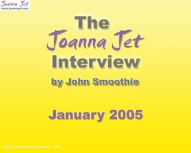 Fan Club Interview - January 2005