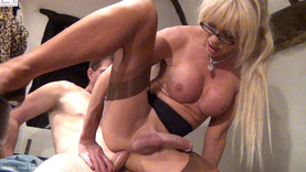 Shemale does POV #2 - Stockings & Hardcore (Part 3)
