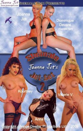 Shemale Jet-Set 2 - Joanna & Dominique Devere