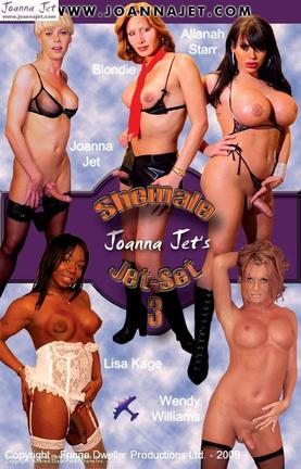 Shemale Jet-Set 3 - Allanah, Blondie & Friend