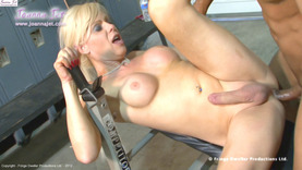 Shemale Cougar #3 - Hard Gym Workout
